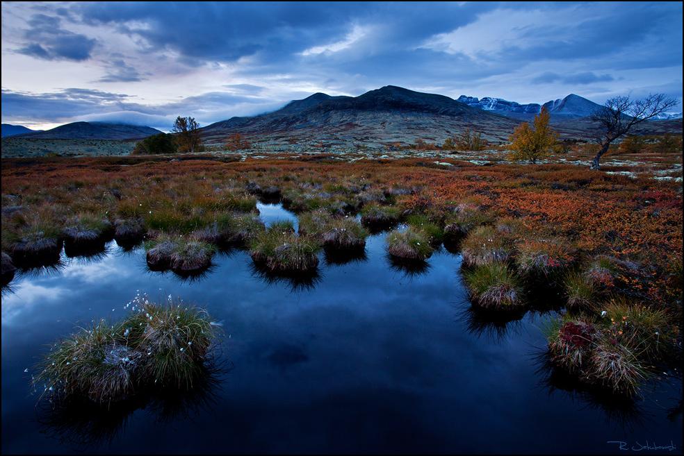"""GDT Naturfotograf des Jahres 2011 Kategorie Landschaft 9. Platz """"Blaue Stunde"""""""