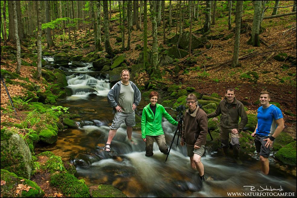Hochwasser, Gewitter und Workshop – Der Bayerische Wald