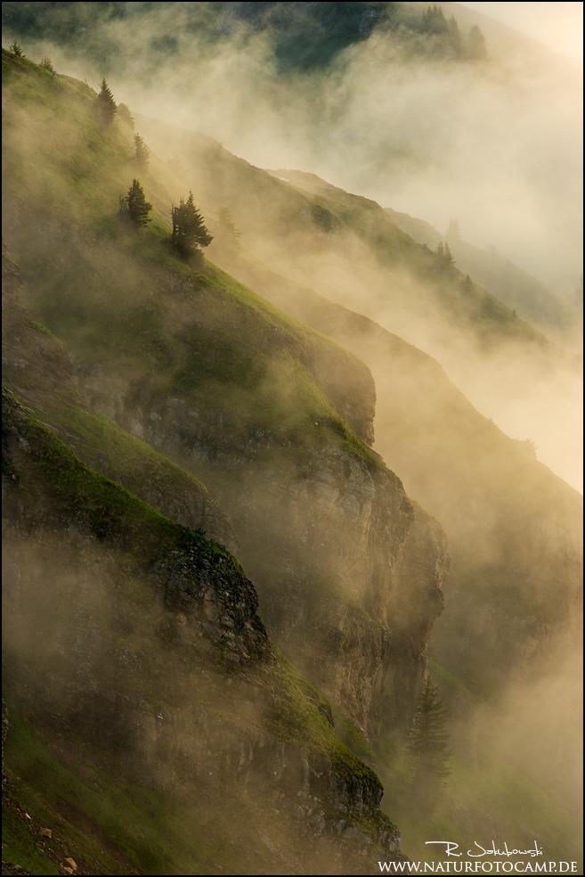Wettergeschehen der Berge