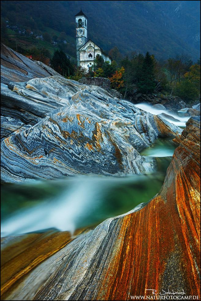 Herbstliches Valle Verzasca