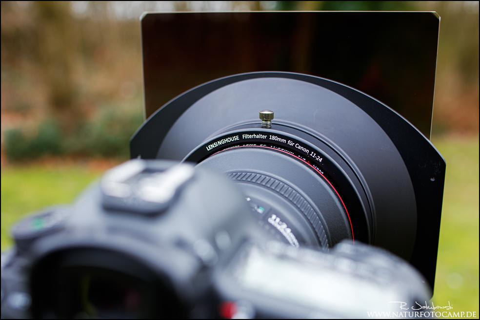 Lensinghouse Filterhalter für das Canon EF 4,0 11-24mm L
