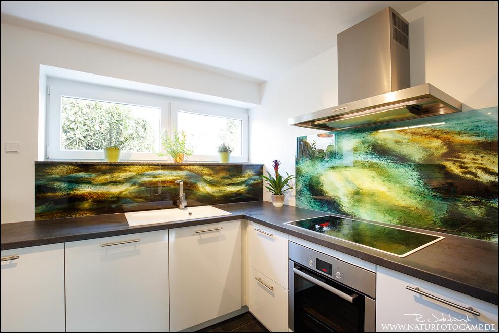 Bauprojekt 1: Spritzschutz in der Küche