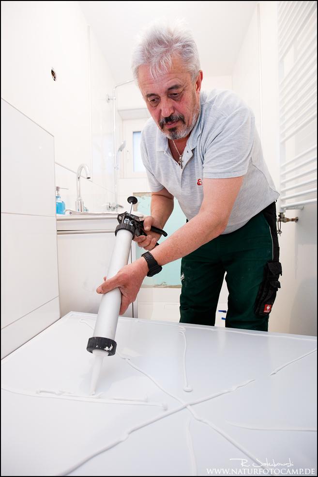Bauprojekt 2: Eure persönliche Duschrückwand