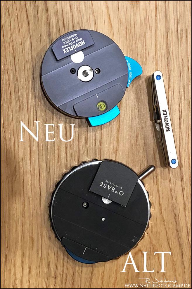 Erste Erfahrungen mit der Novoflex Q-Base II