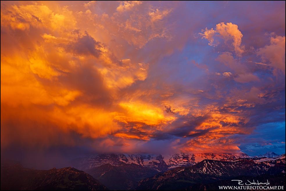 Lichtblicke und Details in den Alpen
