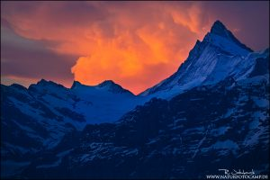 Wetterwechsel in den Alpen