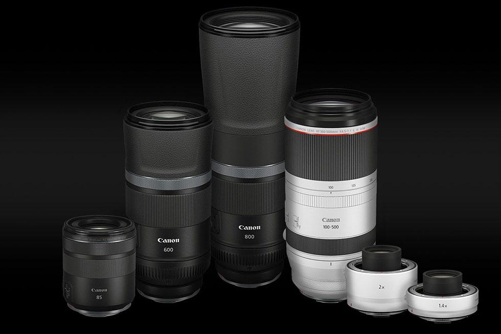 Blogtalk -004- Neuankündigungen Canon EOS R5 R6 RF 4,5-7,1 100-500mm L IS etc.